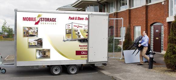 secure storage units Dublin